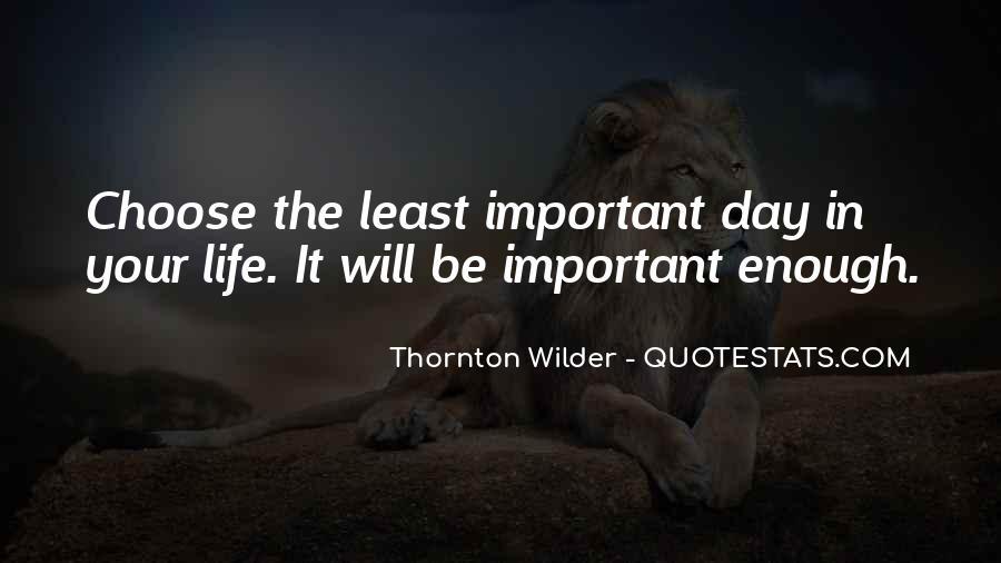 Thornton Wilder Quotes #1520817