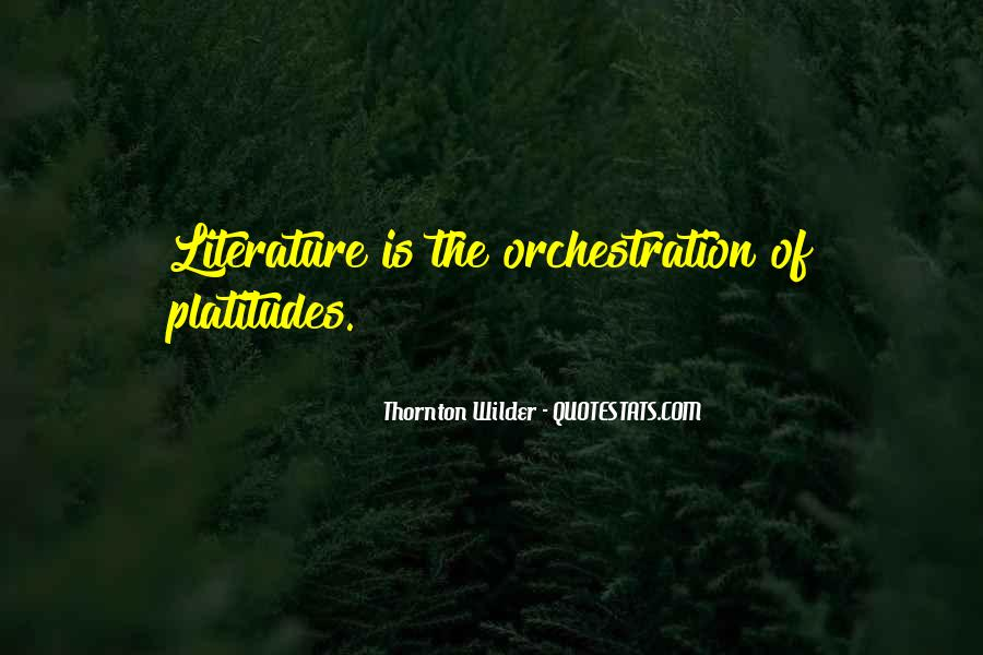 Thornton Wilder Quotes #1529748