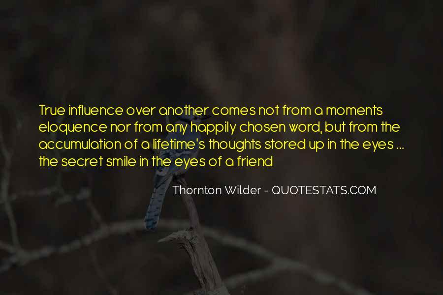 Thornton Wilder Quotes #1557744