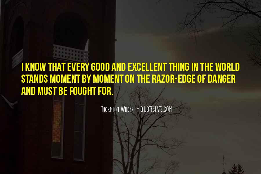 Thornton Wilder Quotes #1576984