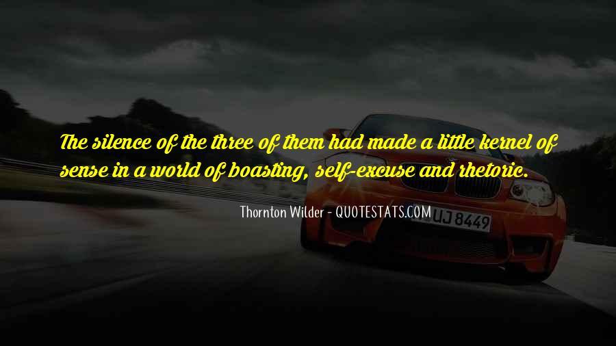 Thornton Wilder Quotes #1581976