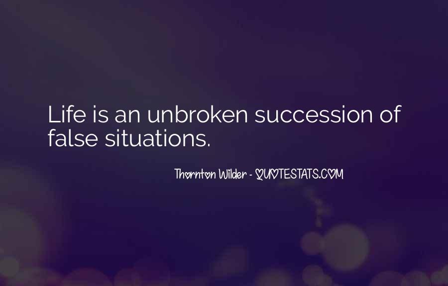 Thornton Wilder Quotes #1605407