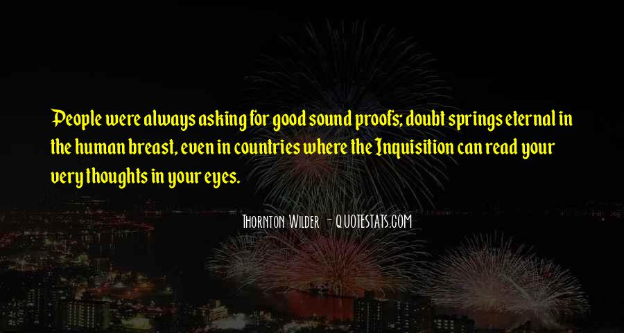 Thornton Wilder Quotes #1612896