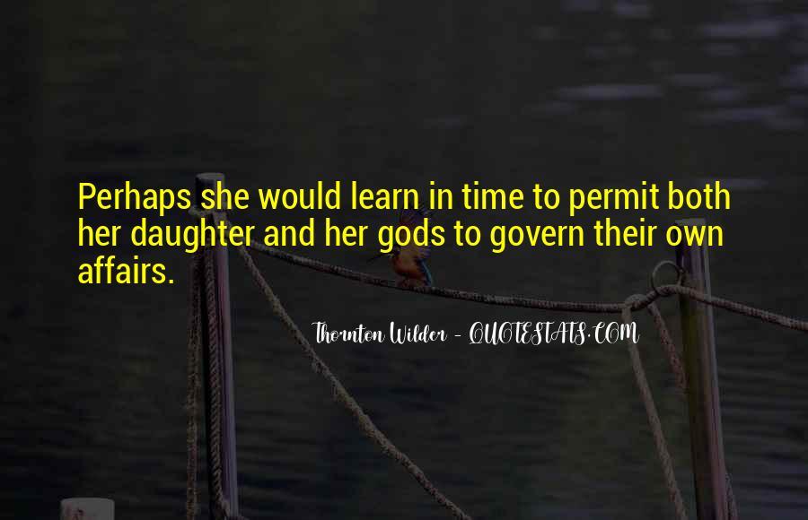 Thornton Wilder Quotes #1621476