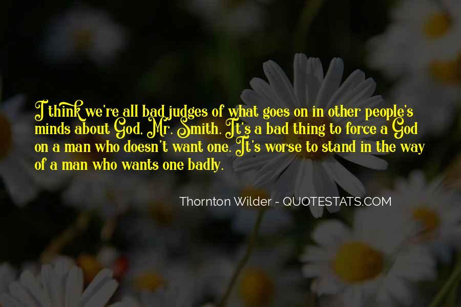Thornton Wilder Quotes #1641510