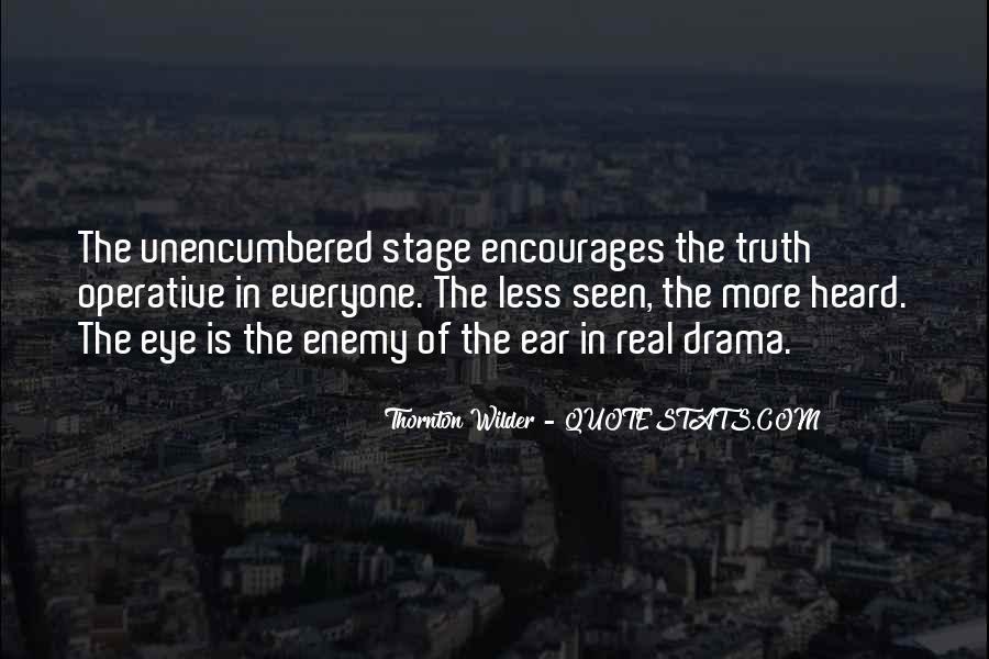 Thornton Wilder Quotes #1669077