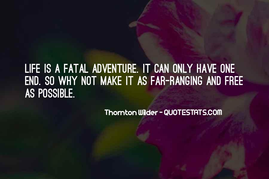 Thornton Wilder Quotes #173751
