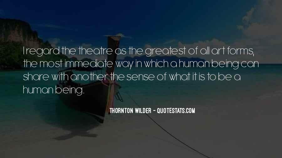 Thornton Wilder Quotes #1740407
