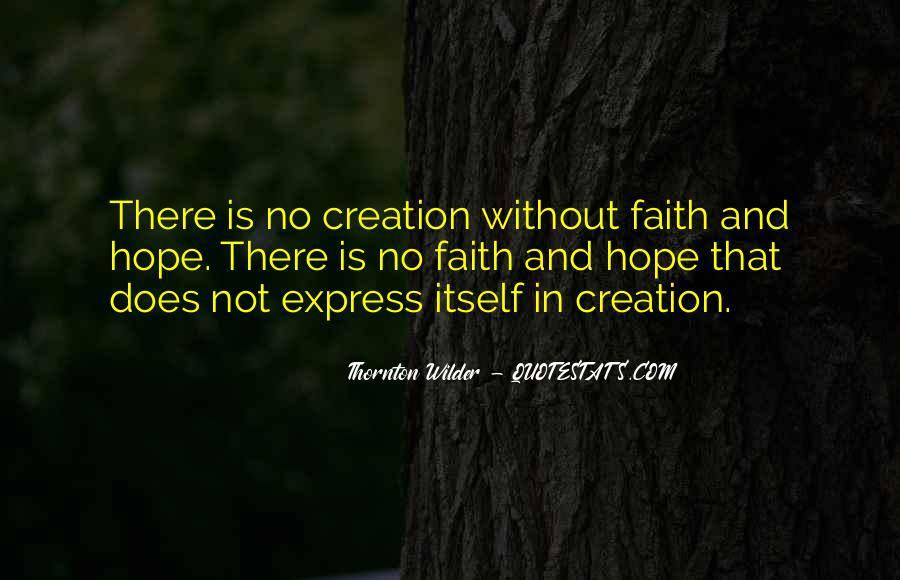 Thornton Wilder Quotes #243056