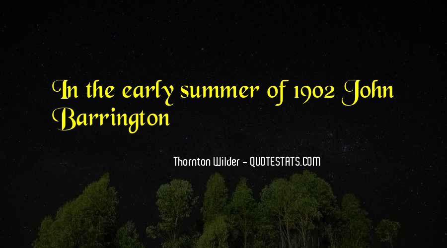 Thornton Wilder Quotes #295360