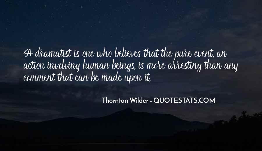 Thornton Wilder Quotes #461209