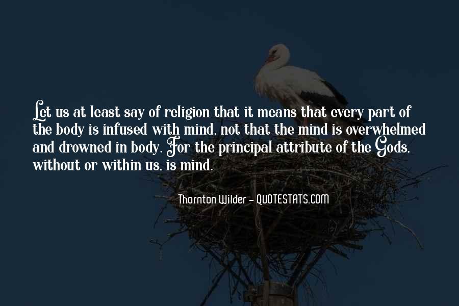 Thornton Wilder Quotes #545187