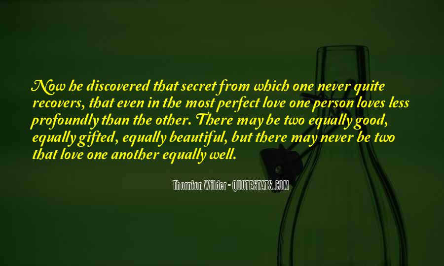 Thornton Wilder Quotes #732550