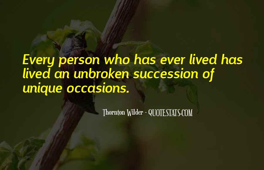 Thornton Wilder Quotes #772272