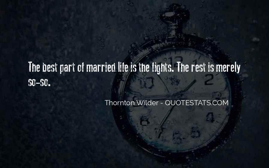 Thornton Wilder Quotes #829511