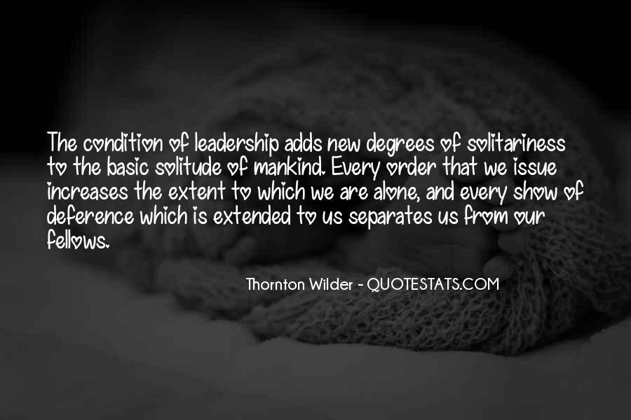 Thornton Wilder Quotes #958703