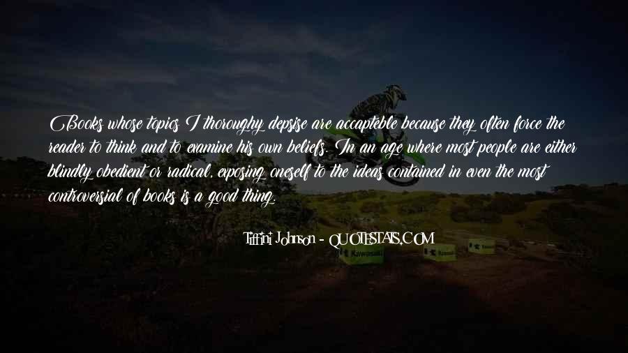 Tiffini Johnson Quotes #1276725