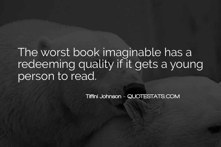 Tiffini Johnson Quotes #191513