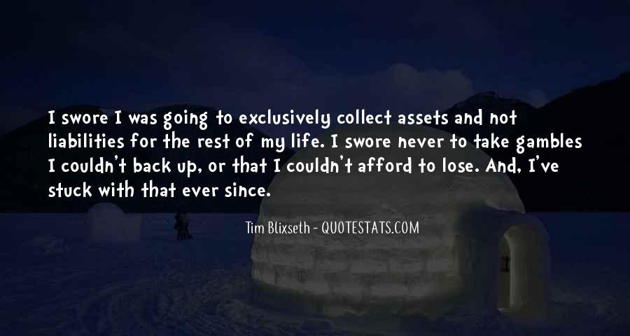 Tim Blixseth Quotes #105528