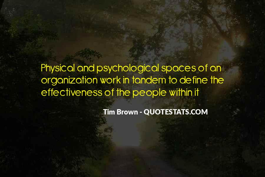 Tim Brown Quotes #227194