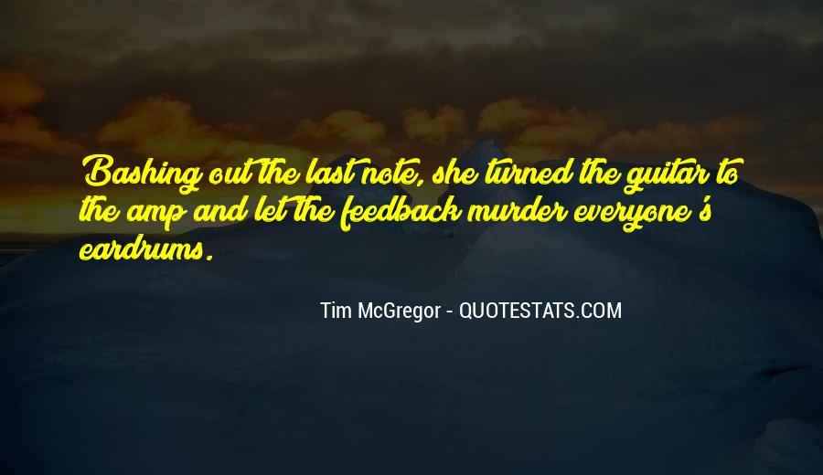 Tim McGregor Quotes #1865480