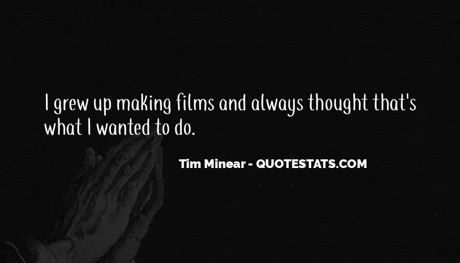 Tim Minear Quotes #1537567