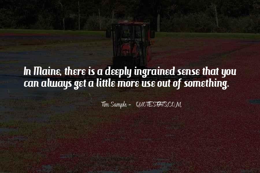 Tim Sample Quotes #1706297