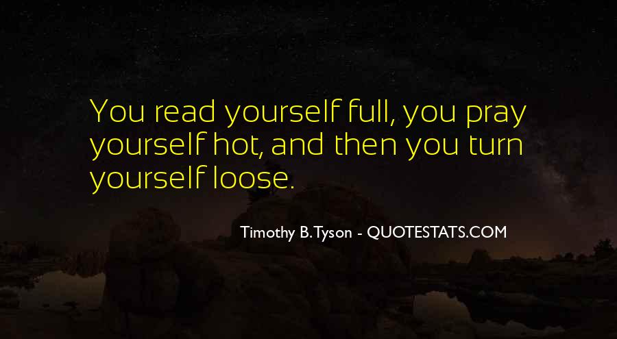 Timothy B. Tyson Quotes #1838582
