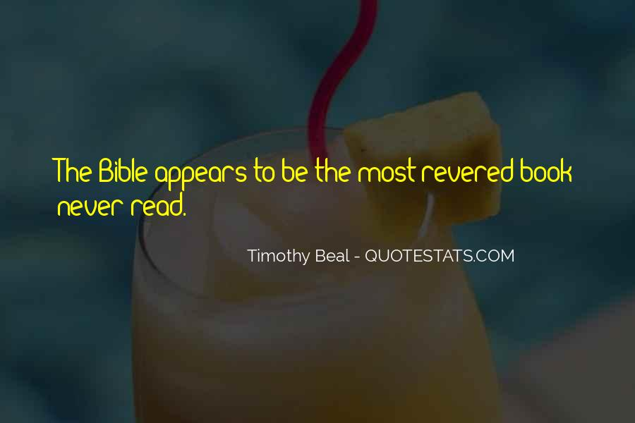 Timothy Beal Quotes #407747