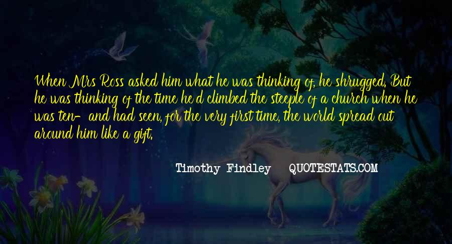 Timothy Findley Quotes #359387