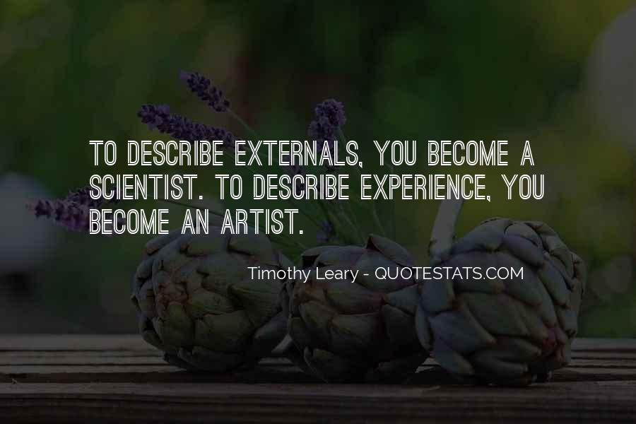 Timothy Leary Quotes #133155