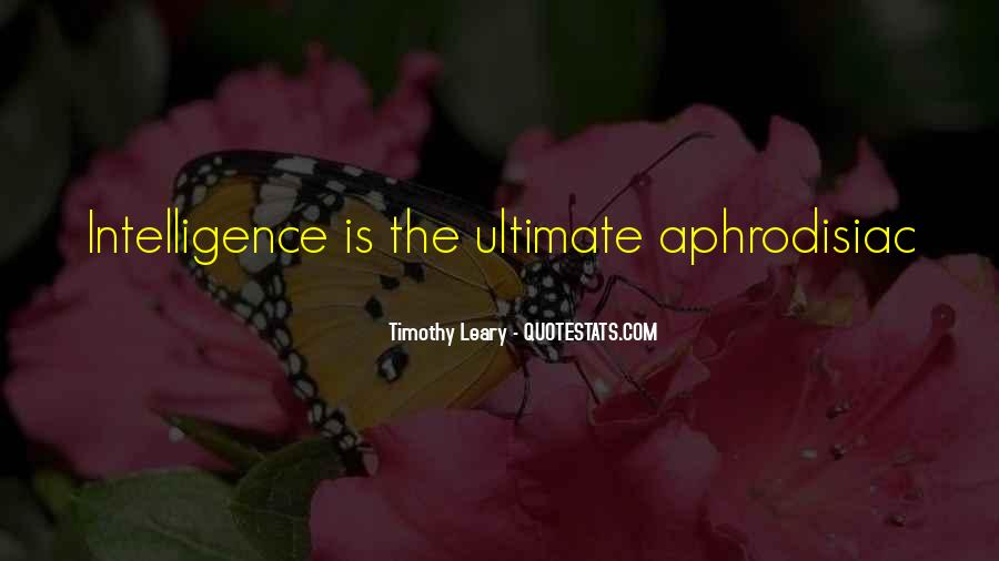 Timothy Leary Quotes #171686