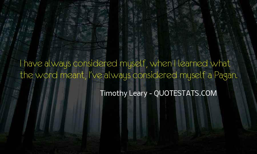 Timothy Leary Quotes #175600