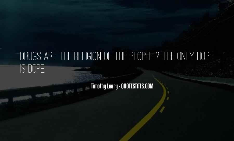 Timothy Leary Quotes #536397