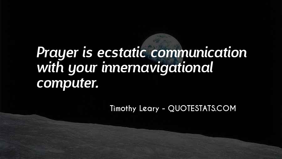 Timothy Leary Quotes #657071