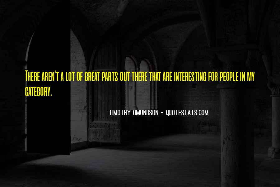 Timothy Omundson Quotes #636573