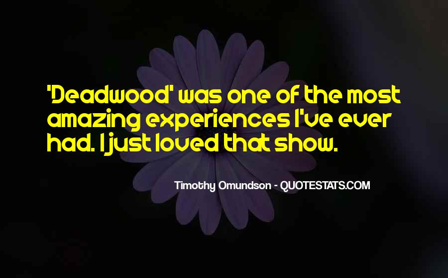 Timothy Omundson Quotes #933289