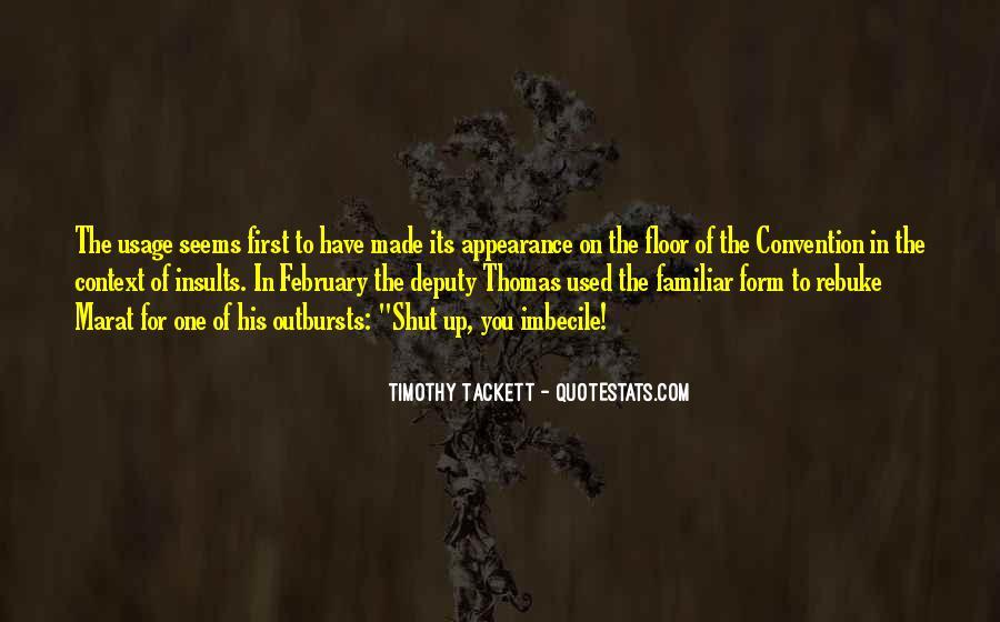 Timothy Tackett Quotes #1538183