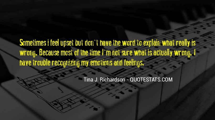 Tina J. Richardson Quotes #1077649
