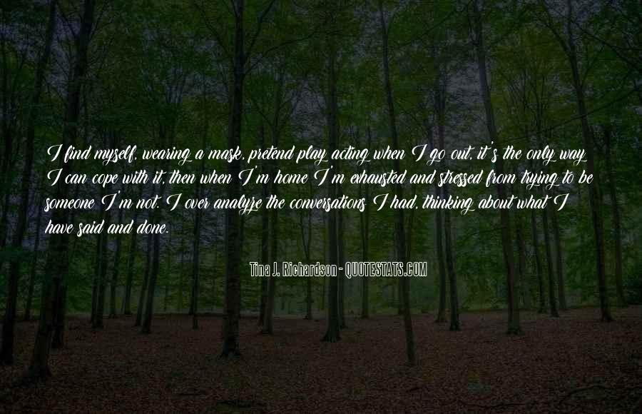 Tina J. Richardson Quotes #1123570