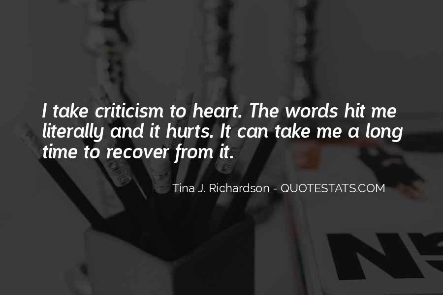 Tina J. Richardson Quotes #1139552
