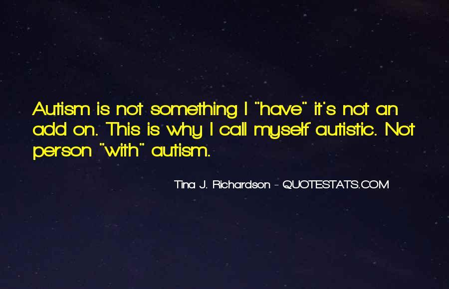 Tina J. Richardson Quotes #1198933