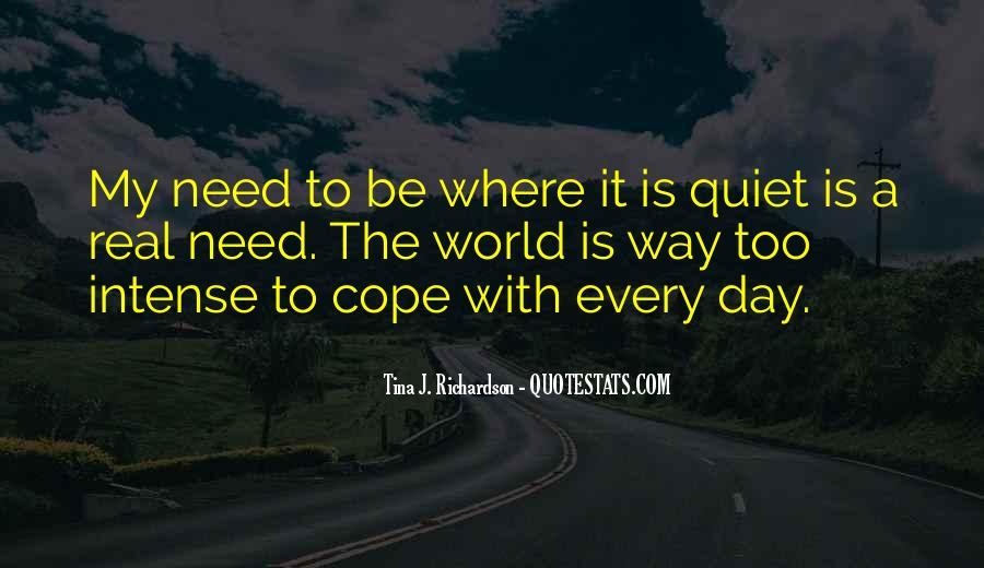 Tina J. Richardson Quotes #1314407