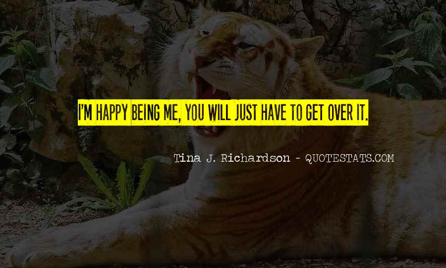Tina J. Richardson Quotes #135703