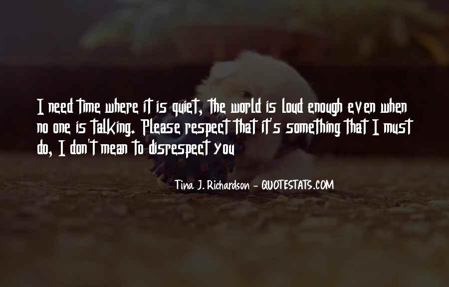 Tina J. Richardson Quotes #1489884
