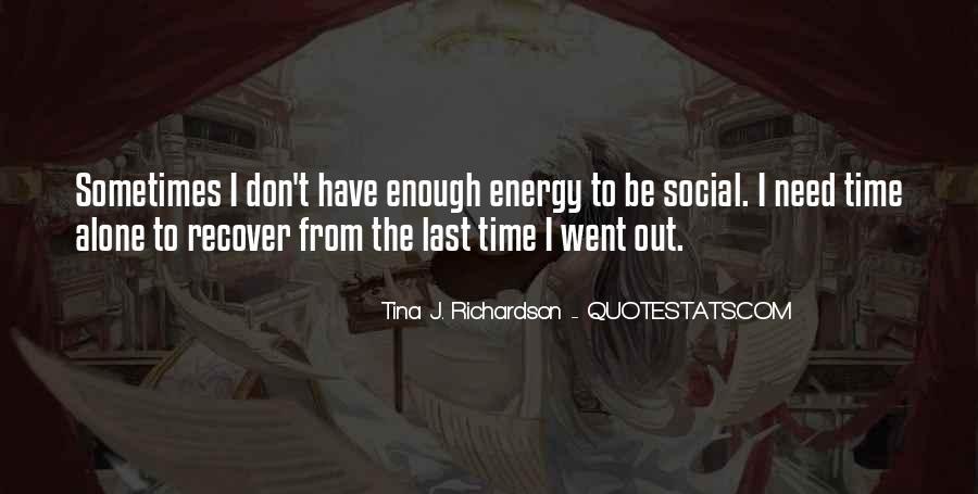 Tina J. Richardson Quotes #156618