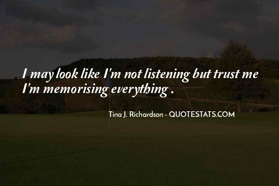 Tina J. Richardson Quotes #1697520