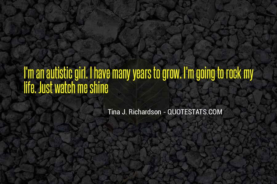 Tina J. Richardson Quotes #1700913