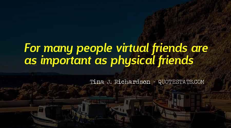 Tina J. Richardson Quotes #1704491