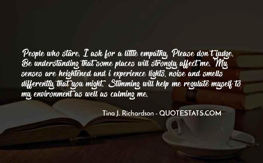 Tina J. Richardson Quotes #190776
